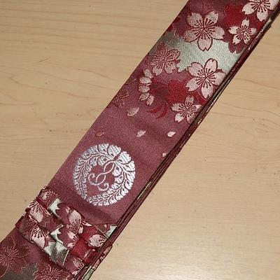 本願寺派 畳袈裟 桜舞模様