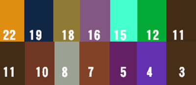 カラー改良衣(改良服) 各宗派