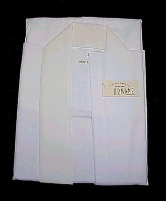 白衣 綿素材 アップメイク