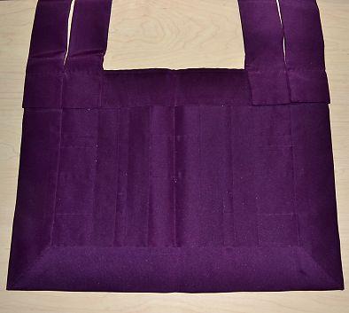 浄土宗 威儀細(いぎぼそ) 羽二重 古代紫