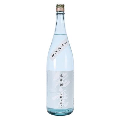 能鷹 しぼりたて生原酒 うすにごり 1.8L