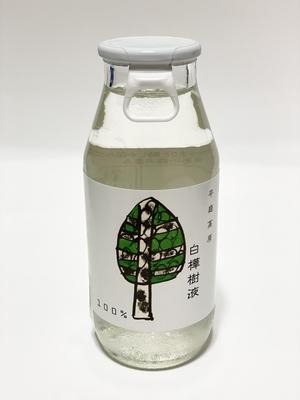 平庭高原 白樺樹液100% 180ml