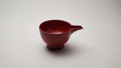 Joboji-Nuri Lacquerware Bowl with Spout