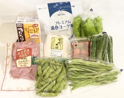 【冷蔵】旬野菜と岩手味セット 9月24日(金)発送分