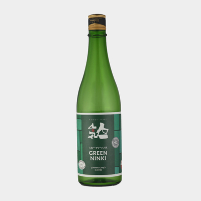 New !「人気一」グリーン人気オーガニック純米吟醸