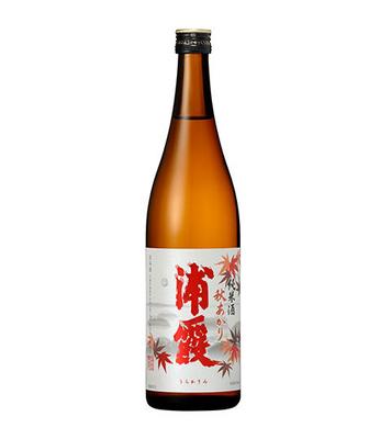 季節限定品「浦霞」純米酒 秋あがり(720ml)