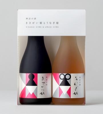「清水川」古代米を使ったお酒 ひめがみの雫(180ml×2本)