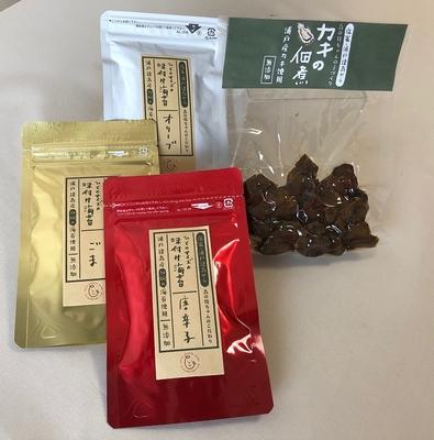 浦戸諸島 島のおすそ分けセット(牡蠣の佃煮と味付け焼きのり3種)