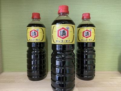 キッコーセイ醤油1.0リットル