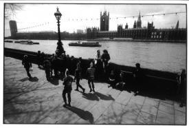 ハービー山口 ポストカードTHAMES LONDON 1984