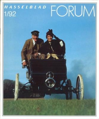 HASSELBLAD FORUM 1992年1月号(英語版)