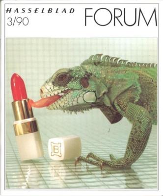 HASSELBLAD FORUM 1990年3月号(英語版)