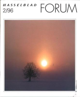 HASSELBLAD FORUM 1996年2月号(英語版)