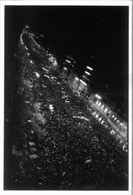 ハービー山口 ポストカードMARCH FOR FREEDOM PRAGUE 1989