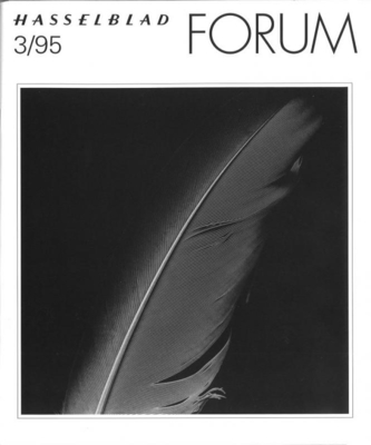 HASSELBLAD FORUM 1995年3月号(英語版)