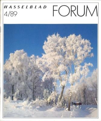 HASSELBLAD FORUM 1989年4月号(英語版)