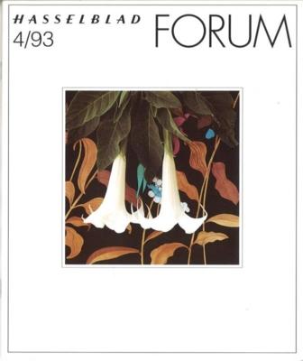 HASSELBLAD FORUM 1993年4月号(英語版)