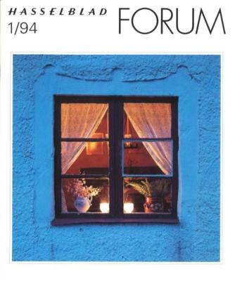 HASSELBLAD FORUM 1994年1月号(英語版)
