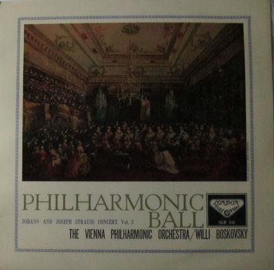 フィルハーモニー舞踏会/ウィリー・ボスコフスキー指揮ウィーンフィルハーモニー管弦楽団
