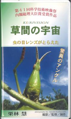 【中古】草間の宇宙―虫の目レンズがとらえた驚異のアングル(VHS)