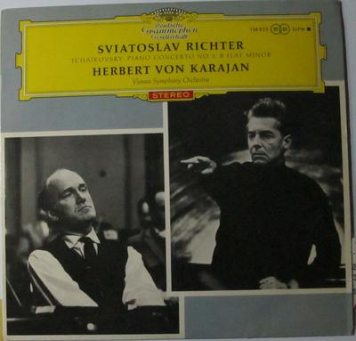 チャイコフスキー ピアノ協奏曲第一番変ロ短調 作品23 スヴィヤトスラフ・リフテル(ピアノ)ヘルベルト・フォン・カラヤン指揮 ウィーン交響楽団