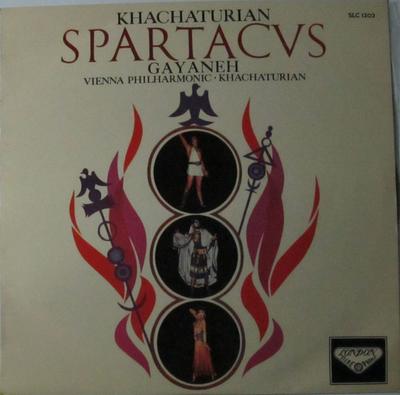 アラム・ハチャトゥリヤン指揮 舞踊組曲 スパルタカス ガイーヌ ウィーン・フィルハーモニー管弦楽団