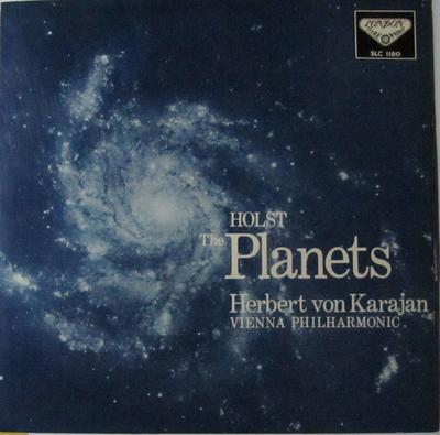 ホルスト 惑星 作品32 ヘルベルト・フォン・カラヤン指揮 ウィーン・フィルハーモニー管弦楽団
