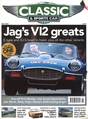 CLASSIC&SPORTS CAR 2003/MAY