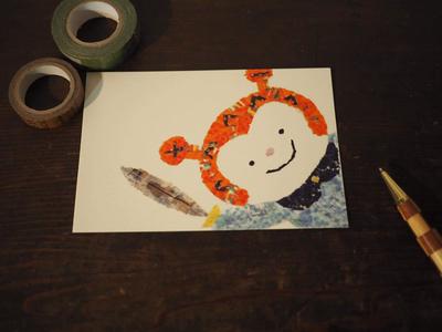 KESENNUMA ポストカード(ホヤぼーや)1枚