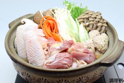 鶏鍋セット(野菜付き)