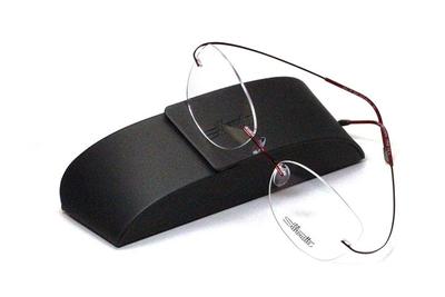 薄型レンズ付メガネセット シルエット Silhouette MinimalArt TMA 5515/CT-3042(ワイン)