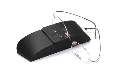 薄型レンズ付メガネセット シルエット Silhouette MinimalArt TMA 5515/CV-8542(マットゴールド)