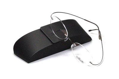 薄型レンズ付メガネセット シルエット Silhouette MinimalArt TMA 5515/CO-6041(パインコーン:松色)