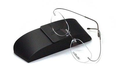 薄型レンズ付メガネセット シルエット Silhouette MinimalArt TMA 5515/CN-7111(シルバーグレー)