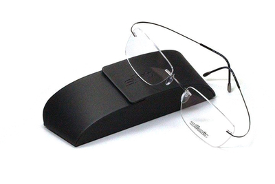 薄型レンズ付メガネセット シルエット Silhouette MinimalArt TMA 5515/CQ-6561(フォッシル)