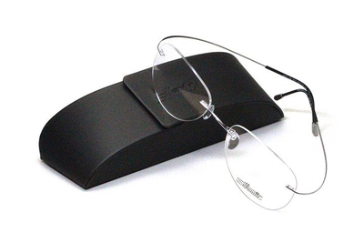 薄型レンズ付メガネセット シルエット Silhouette MinimalArt TMA 5515/CM-7011(スターリングシルバー)