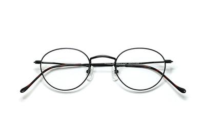 薄型レンズ付メガネセット Union Atlantic  ユニオンアトランティツク UA 3602-9 ブラック【ユニセックス】【男女兼用】
