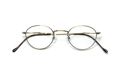 薄型レンズ付メガネセット Union Atlantic  ユニオンアトランティツク UA 3602-11 アンティークゴールド【ユニセックス】【男女兼用】