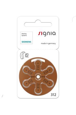 シグニア 補聴器空気電池PR41(S312)