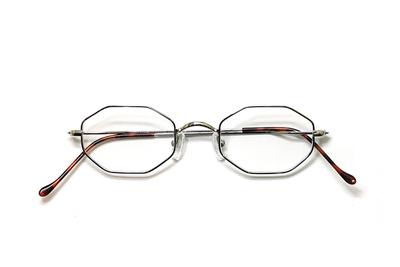 薄型レンズ付メガネセット Union Atlantic  ユニオンアトランティツク UA 3603-2 シルバー【ユニセックス】【男女兼用】