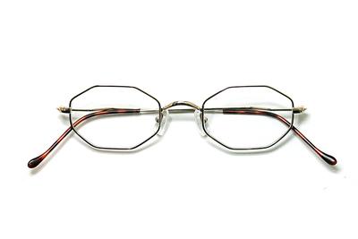 薄型レンズ付メガネセット Union Atlantic  ユニオンアトランティツク UA 3603-1 ゴールド【ユニセックス】【男女兼用】