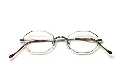 薄型レンズ付メガネセット Union Atlantic  ユニオンアトランティツク UA 3603-12 アンティークシルバー【ユニセックス】【男女兼用】