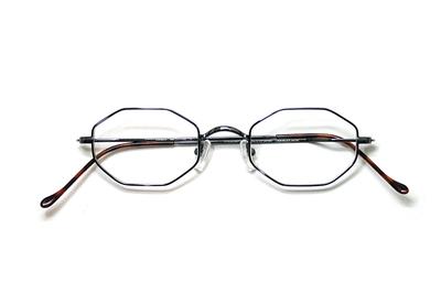 薄型レンズ付メガネセット Union Atlantic  ユニオンアトランティツク UA 3603-8 パリスブルー【ユニセックス】【男女兼用】
