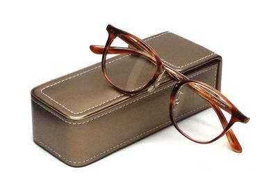 薄型レンズ付メガネセット Union Atlantic  ユニオンアトランティツク UA 3620-BRS ブラウンササ【セルロイド】【ユニセックス】【男女兼用】