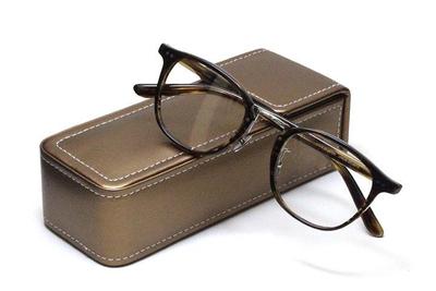 薄型レンズ付メガネセット Union Atlantic  ユニオンアトランティツク UA 3620-KHS カーキブラウンササ【セルロイド】【ユニセックス】【男女兼用】