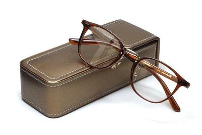 薄型レンズ付メガネセット Union Atlantic  ユニオンアトランティツク UA 3620-UB ブラウン【セルロイド】【ユニセックス】【男女兼用】