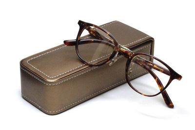 薄型レンズ付メガネセット Union Atlantic  ユニオンアトランティツク UA 3620-HV ハバナ【セルロイド】【ユニセックス】【男女兼用】