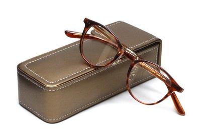 薄型レンズ付メガネセット Union Atlantic  ユニオンアトランティツク UA 3619-BRS ブラウンササ【セルロイド】【ユニセックス】【男女兼用】