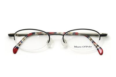 MarcO'Polo マルコポーロ MP 3672-139 ブラック/マーブル系(メタルテンプル)【ユニセックス】【男女兼用】