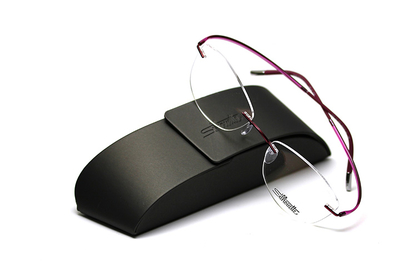 薄型レンズ付メガネセット Silhouette ESSENCE エッセンス 5523-3642 ピンクスピリット【男女兼用】【メンテナンスフリー】【超軽量リムレス】